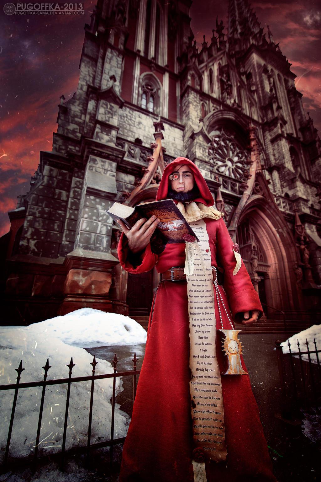 Warhammer 40K Ministorum Priest (Missionary) by Pugoffka-sama