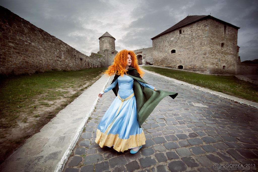 BRAVE - MERIDA by Pugoffka-sama