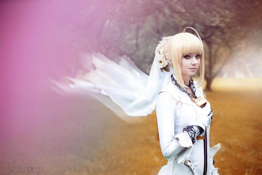 Saber bride - Fate extra CCC 6 by Pugoffka-sama