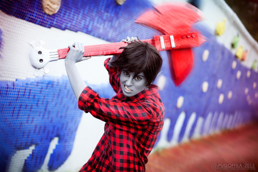 Adventure Time - Marshall Lee by Pugoffka-sama