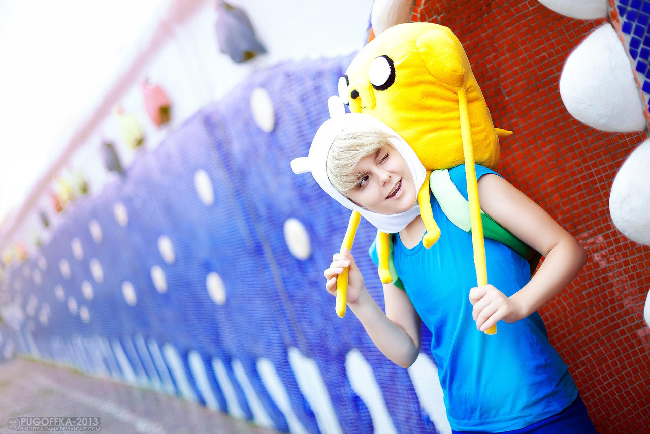 Adventure Time - Finn and Jake by Pugoffka-sama