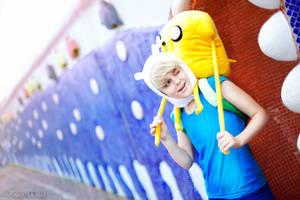 Adventure Time - Finn and Jake by Pugoffka-sama