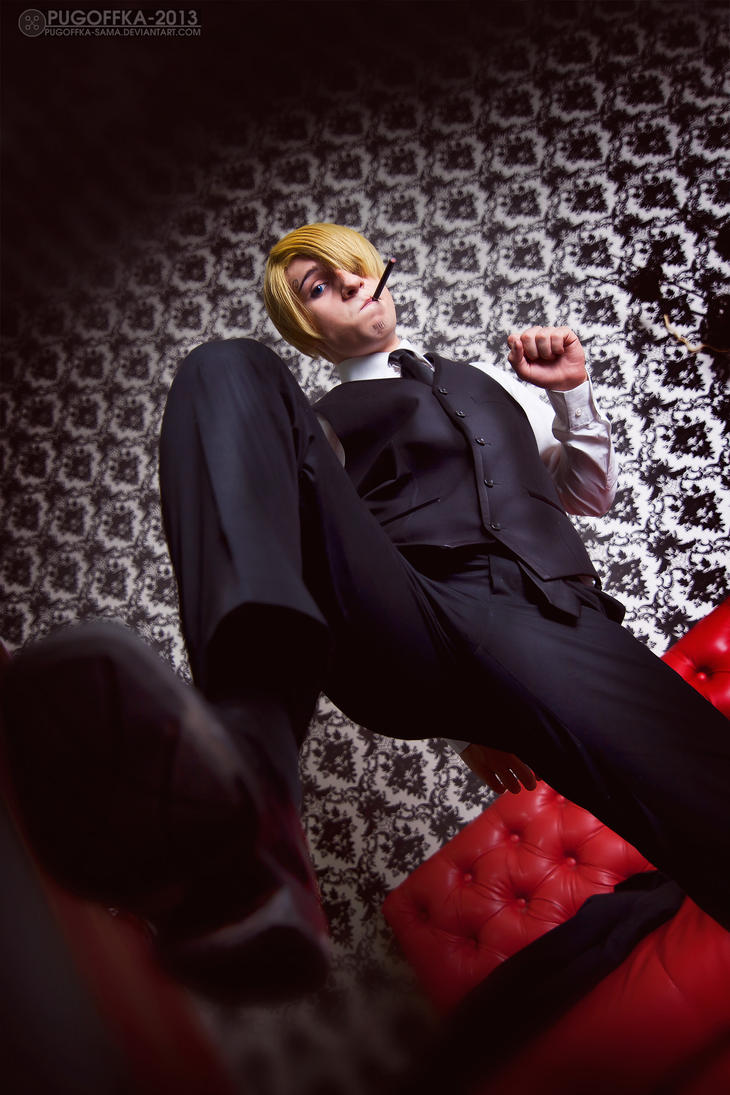 One Piece - Sanji by Pugoffka-sama