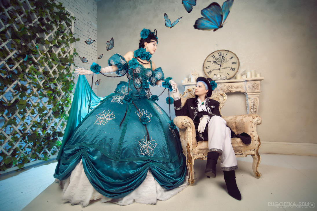 Paradise kiss - Yukari and George by Pugoffka-sama