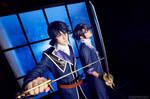 K Project - Munakata Reisi and Fushimi Saruhiko by Pugoffka-sama