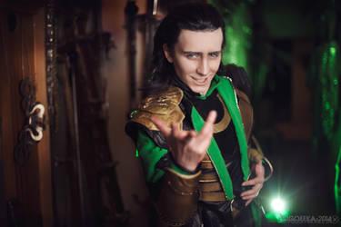 Loki of Asgard by Pugoffka-sama