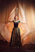 Princess Anna - Frozen by Pugoffka-sama