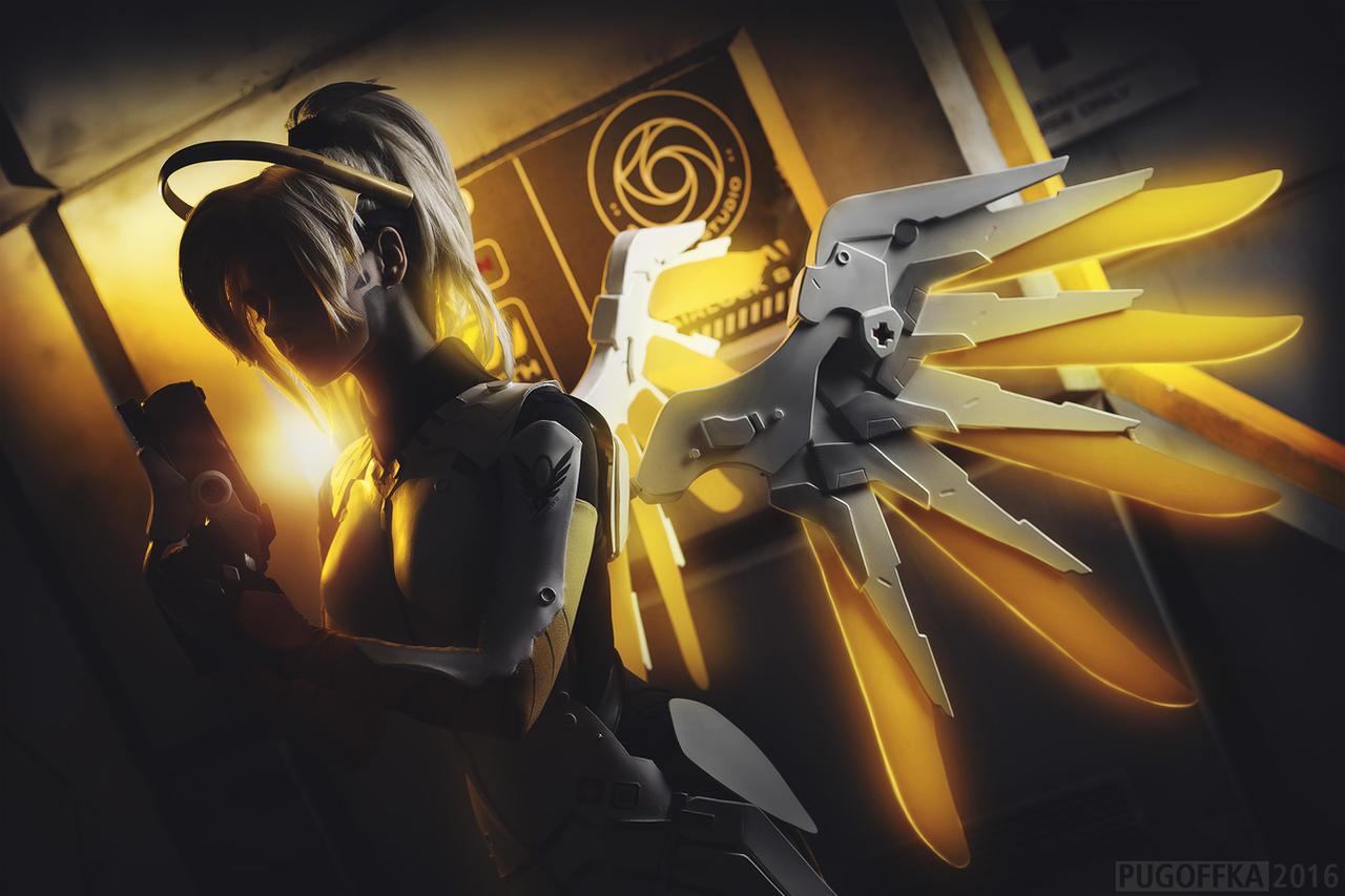 Overwatch - Mercy by Pugoffka-sama