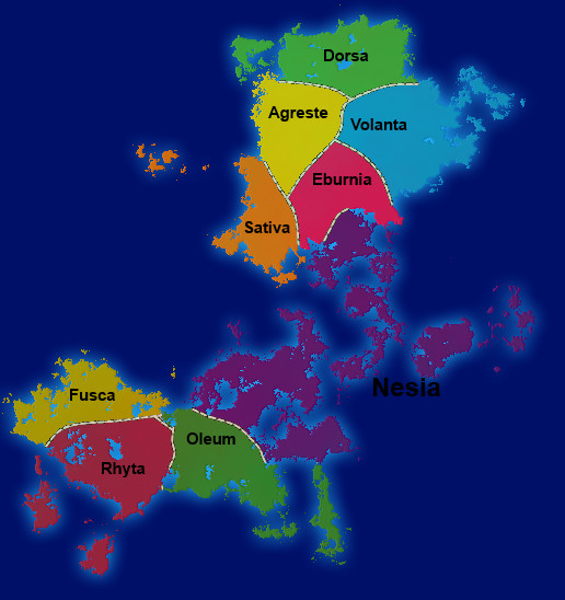 Arvensa (Political Map) by Noguy