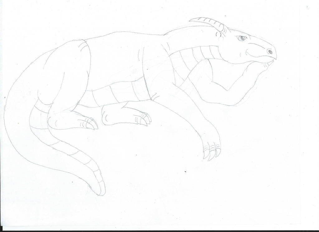 Thinking Drake Sketch by Noguy