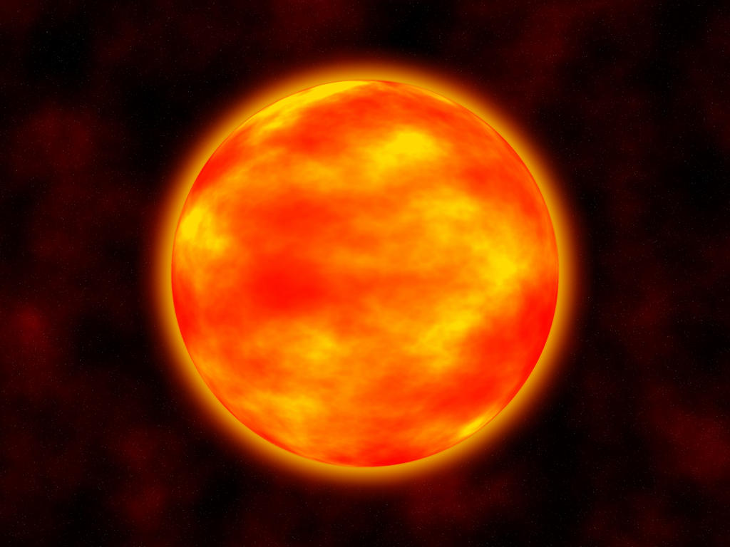 Red Giant Star by Noguy