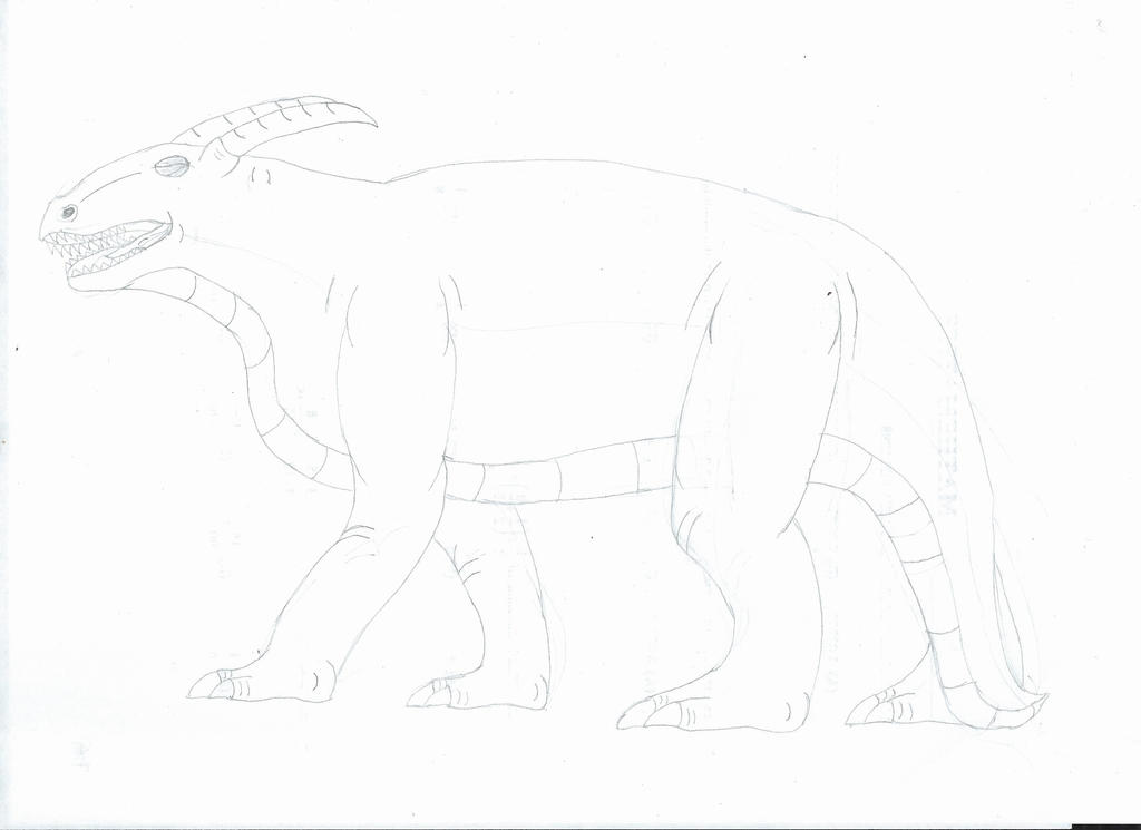 Garnet Drake Sketch by Noguy