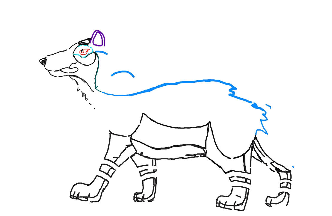 Wolf Impression by Aristodes