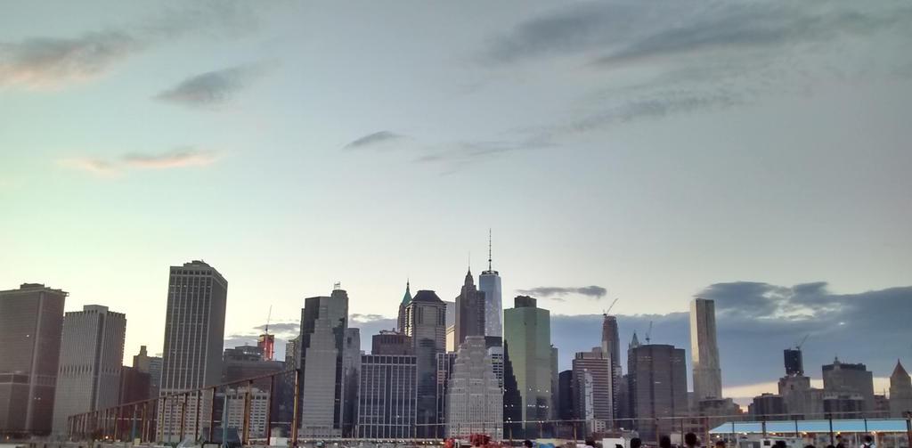 Lower Manhattan Skyline by Aristodes
