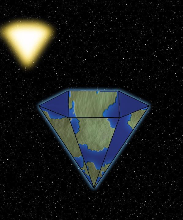 Diamond Planet by Aristodes
