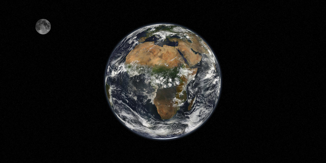 Earth During the Day by Aristodes