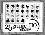 25 Grunge Brushes HQ