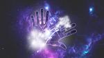 space hands wallpaper