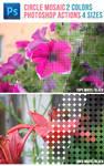 Circle Mosaic Photoshop Actions