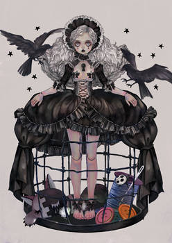 Doll cage