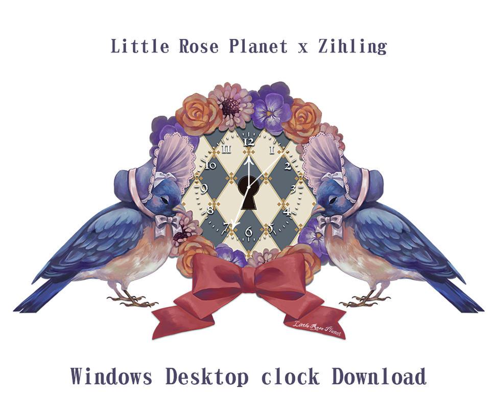 Curiouser Journey WindowsDesktopClock Download by Rin54321