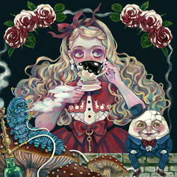 Alice in Wonderland by Rin54321