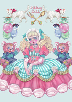 Macaron girl
