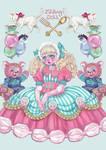 Macaron girl by Rin54321