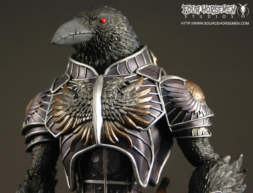 Gothitropolis Black Raven by FourHorsemenStudios