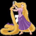 Rapunzel - I'll brush my hair