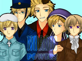 APH - Nordic Powers by miyaotohime