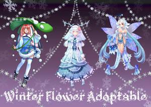 [Auction OPEN] Winter Flower Adoptable