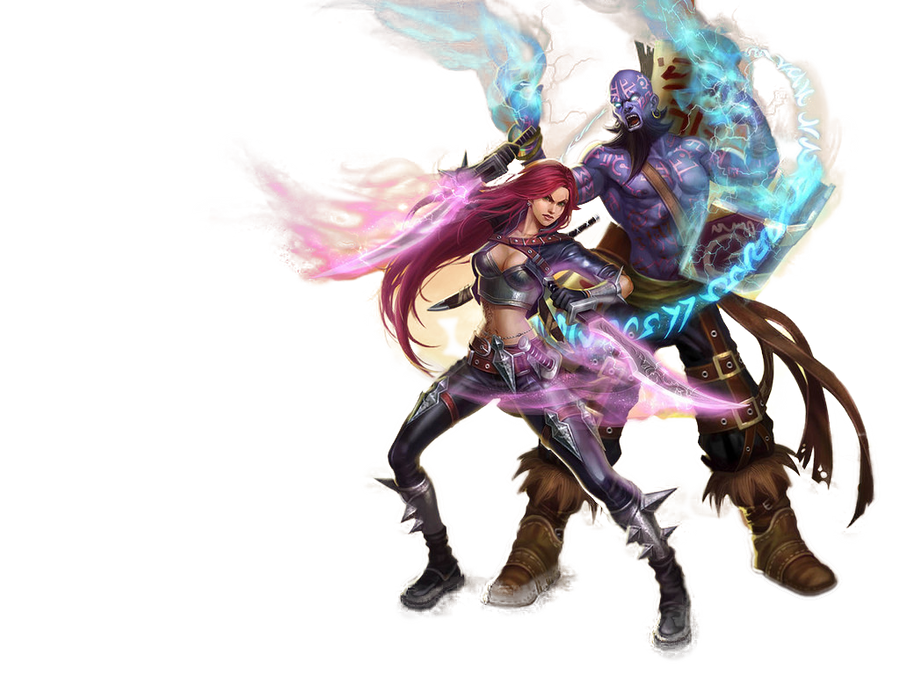 League of Legends Render by cojocea2010
