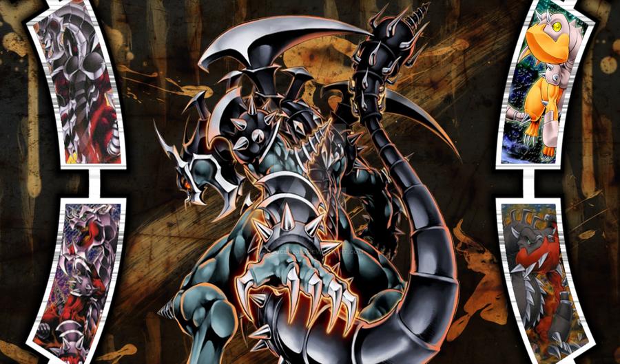 Dark Armed Dragon Playmat by cojocea2010 on DeviantArt