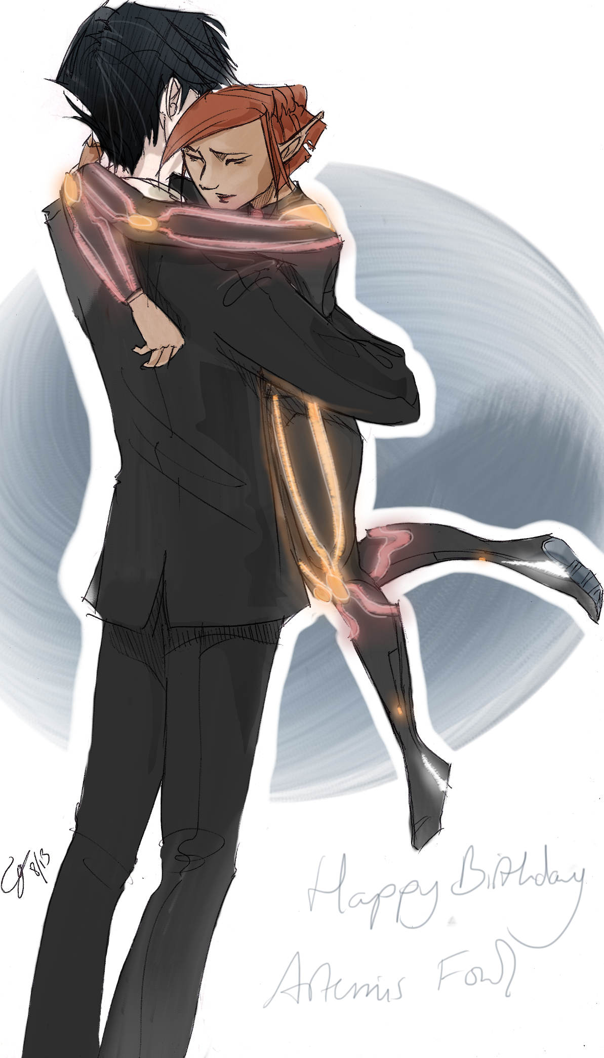 Artemis Fowl favourites by LightEcoSage1 on DeviantArt