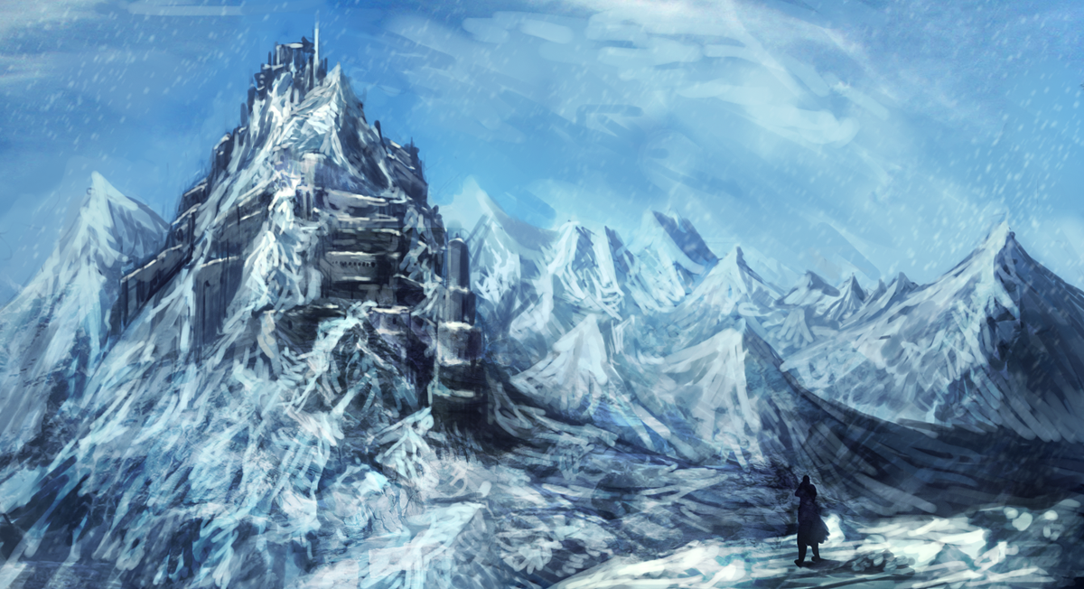 Go Back > Gallery For > Fantasy Mountain Fortress