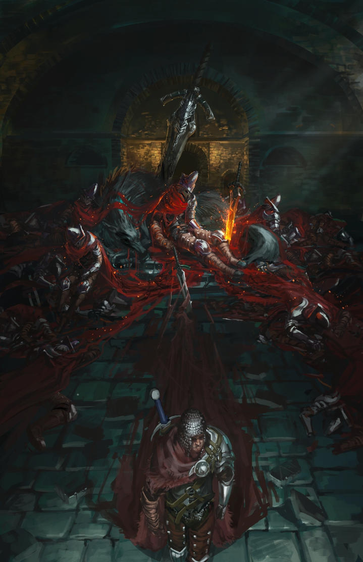 Dark souls 3 abyss watchers by ishutani on deviantart - Watchers dark souls 3 ...