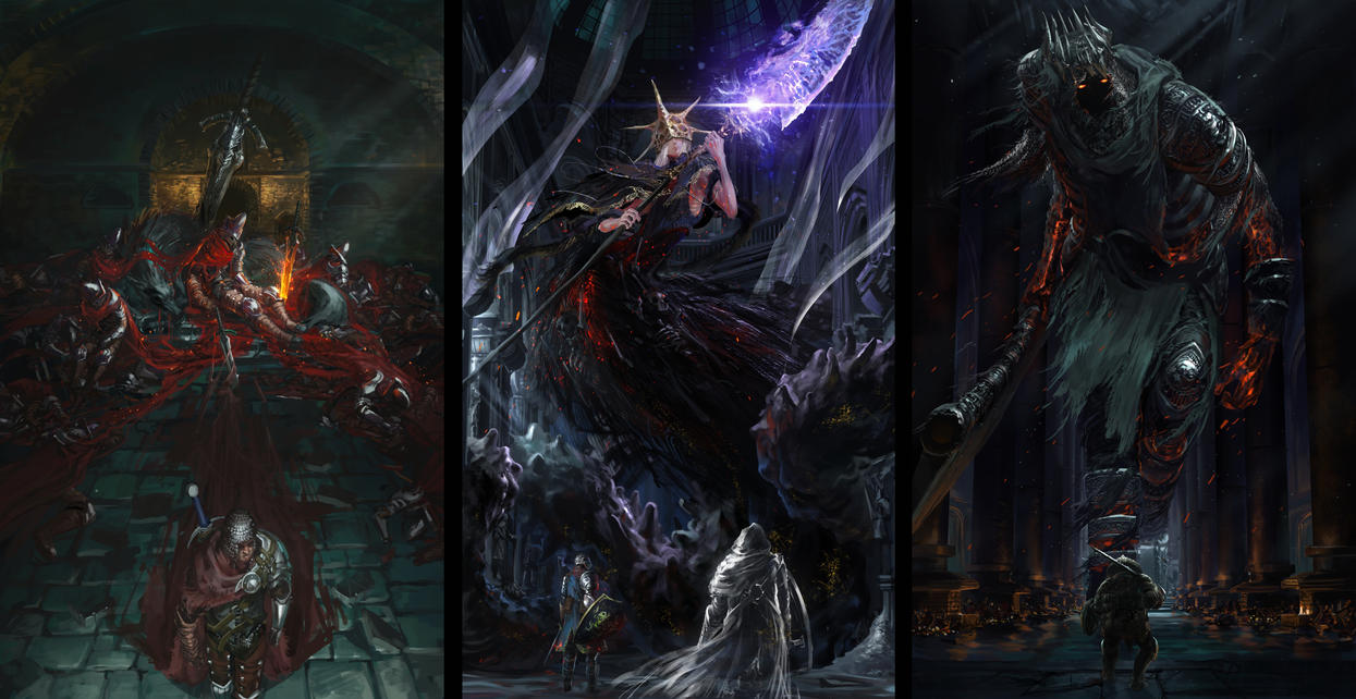 Dark souls 3 - The lords of cinder by Ishutani