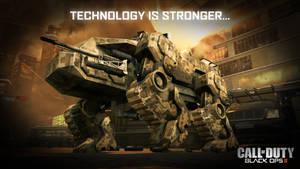 Black Ops II Wallpaper: Technology is Stronger...