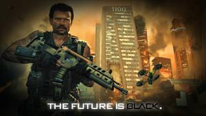 Black Ops II Wallpaper: The Future is Black