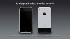 Say Happy Birthday to the iPhone.