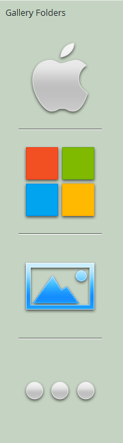 My New Gallery Folder Icons