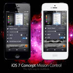 iOS 7 Concept: Mission Control