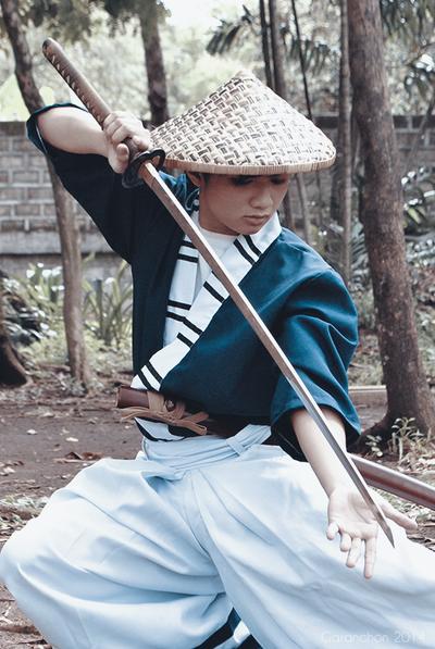 Kimonos: The Wandering Swordsman II by chibiomajo