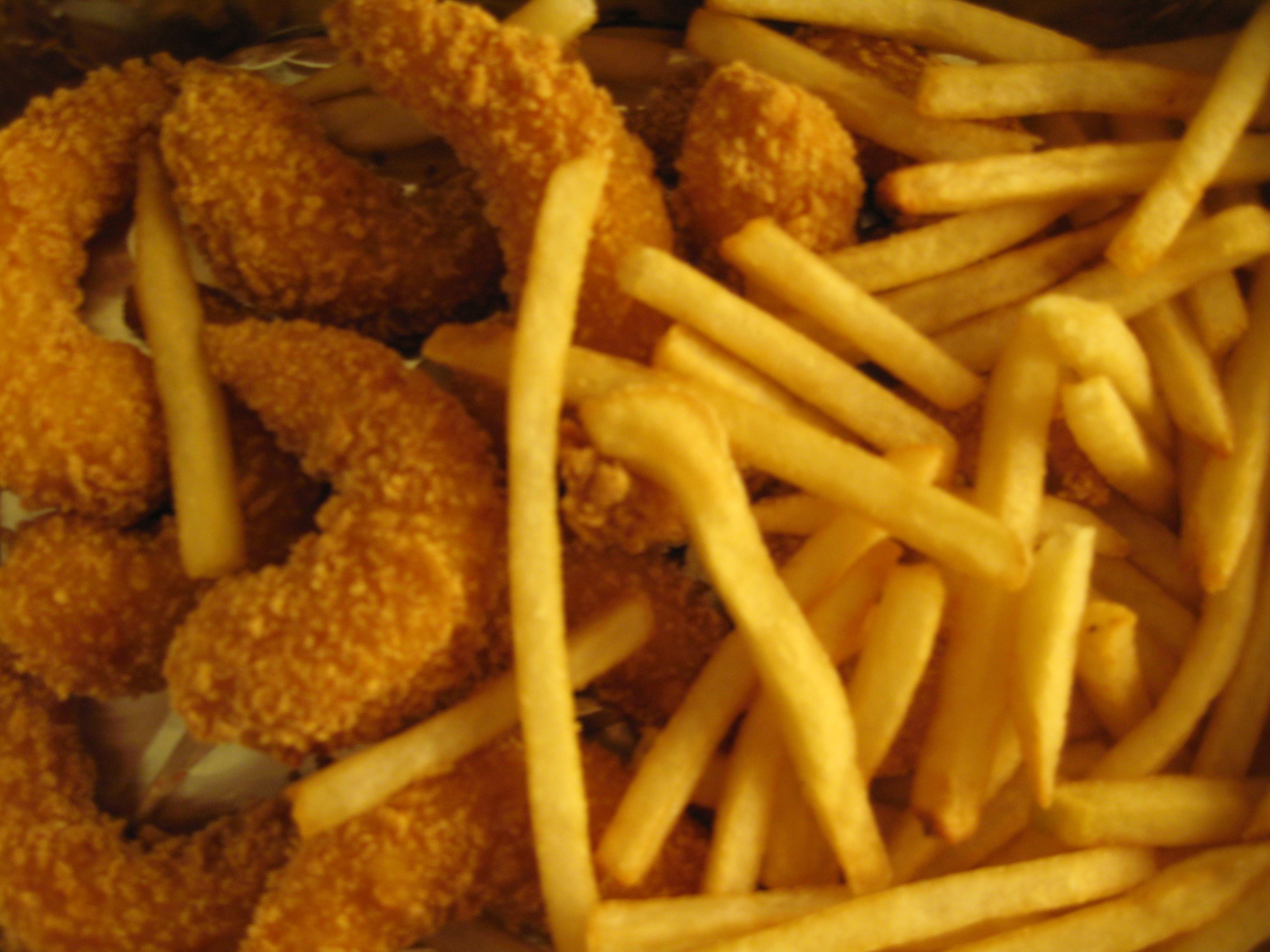 Albaik jumbo shrimp and fries by johnston on deviantart for Art cuisine jeddah