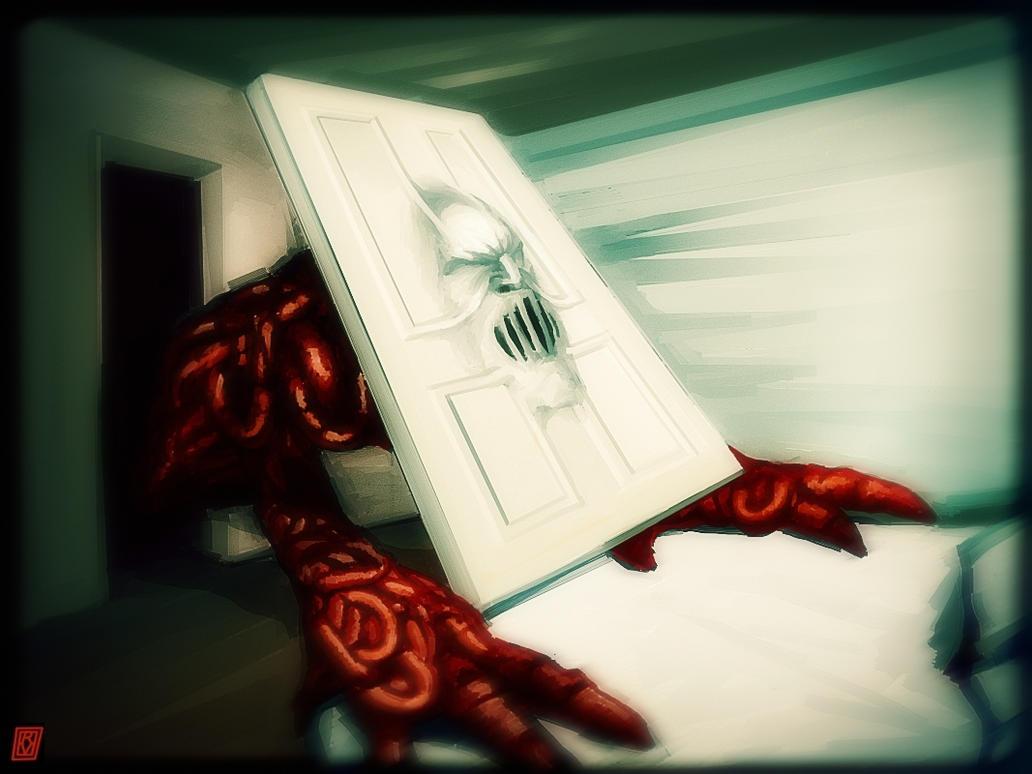 Closet Monster by nekokawai