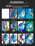 2020 Summary of Art! Josh the Drizzile