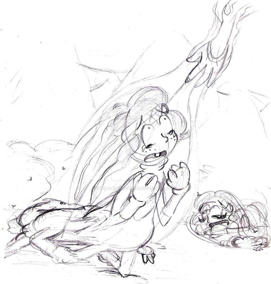 The Creation of Llama by Blue-Aqua-san95