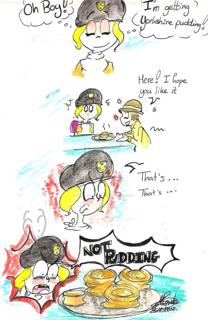 Yorkshire Pudding is not pudding by Blue-Aqua-san95