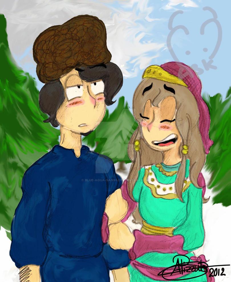 The Tsar's daughter by Blue-Aqua-san95